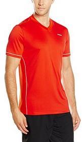 HEAD Głowa dla mężczyzn Chase dekoltem w szpic T-Shirt, czerwony, s 811276sml flame