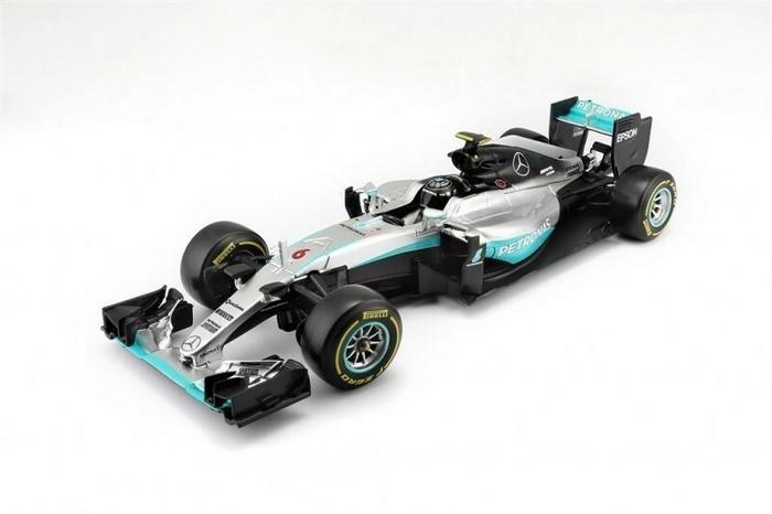 Bburago Bolid F1 Mercedes AMG Hybrid 1:18