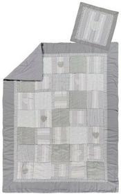 LINDER Komplet Narzuta + Poszewka ARDOISE 150 x 240 cm  LINDER