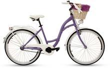 """Goetze, Rower miejski, Colours 26"""", fioletowo-biały"""