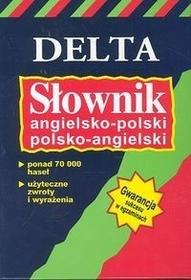 Elżbieta Mizera Słownik angielsko-polski, polsko-angielski DELTA / wysyłka w 24h