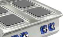 Gort Kuchnia elektryczna 6-płytowa (220 x 220 mm) z piekarnikiem elektrycznym GC1200-120EV+V42