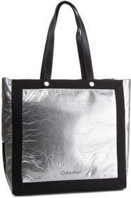f0de3caf2a Calvin Klein Torebka Dual Shopper Metalic K60K604658 904 - Ceny i ...