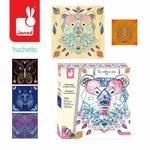 Janod Zestaw Kreatywny Przeplatanka 3d String Art Zwierzęta 8+,