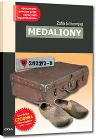 Greg Zofia Nałkowska Medaliony (wydanie z opracowaniem i streszczeniem)