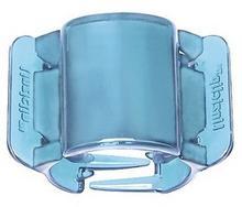 Linziclip Midi Translucent Real Blue Klamra do włosów