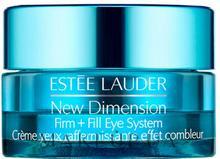 Estee Lauder Ujędrniający i wypełniający zmarszczki krem do okolic oczu - Estée Lauder New Dimension Firm + Fill Eye System