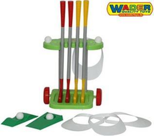 WaderQuality Toys Golf Wózek Zestaw Golfowy 15 elementów 56504