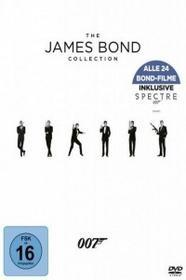 20th Century Fox Bond Collection 2016, 24 DVD