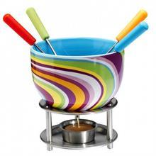 Mastrad Zestaw do zestaw do fondue (kolorowe paseczki) MA-F47521