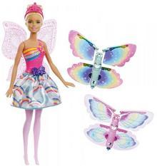 Barbie Wróżka latające skrzydełka - DARMOWA DOSTAWA OD 199 ZŁ!!!