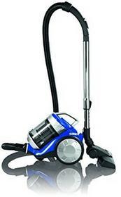 Clean Maxx CLEANmaxx 09897 - odkurzacz cyklonowy | filtr HEPA | 700 W | energooszczędny- klasa A efektywności energetycznej | niski poziom hałasuzaledwie 72dB | kolor niebiesko-srebrny 09897