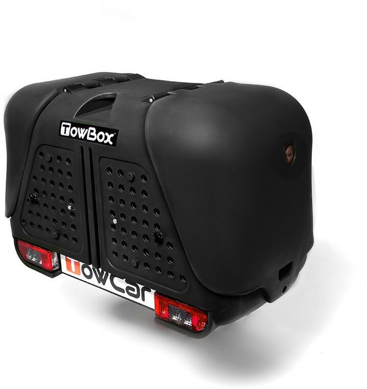 Towbox V2 dog - box na hak czarny 1853