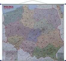 Polska mapa ścienna kodów pocztowych 1:600 000 Jokart