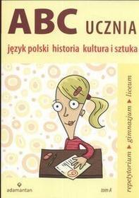 Mizerski Witold Abc ucznia język polski historia kultura i sztuka tom a / wysyłka w 24h