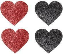 Bonprix Naklejki na sutki (4 szt.) czarno-czerwony