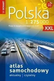 Demart Atlas samochodowy Polska 1:275 000 - Demart