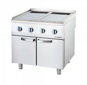 Stalgast kuchnia indukcyjna 4 polowa 800x700 14kW 9706100