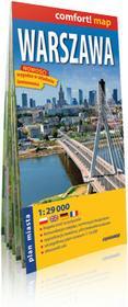 ExpressMap Warszawa. Laminowana mapa miasta 1:29 000 - Praca zbiorowa