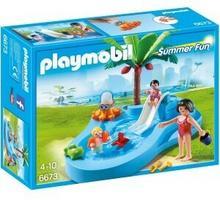 Playmobil Summer Fun - Basen dla dzieci ze zjeżdżalnią 6673