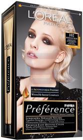 Loreal Recital Preference Farba do włosów Bardzo Jasny Blond Perłowy 102