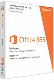 Microsoft Office 365 Business 5PC - najnowsza wersja 2016