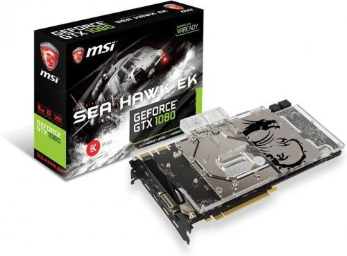 MSI GeForce GTX 1080 Sea Hawk Ek X VR Ready