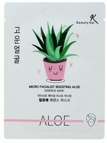 Beauty Kei Maseczka na płachcie kojąco nawilżająca aloes