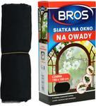 BROS Moskitiera na okno Bros czarna 150x180cm