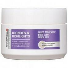 Goldwell Dualsenses Blondes Highlights 60 Sec Treatment Maska do włosów 200ml
