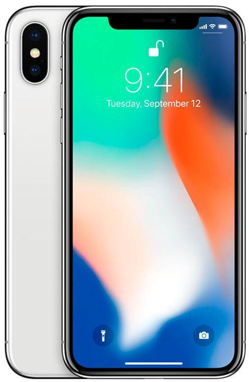 Apple iPhone X 64GB Srebrny