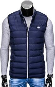 Ombre Clothing BEZRĘKAWNIK V40 - GRANATOWY