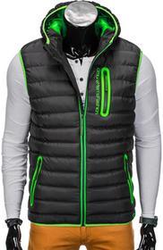 Ombre Clothing BEZRĘKAWNIK V41 - CZARNY