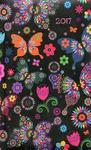 Albi Kalendarz tygodniowy kieszonkowy 2017 Motyle