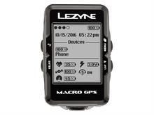 LEZYNE Komputer rowerowy Macro GPS czarny