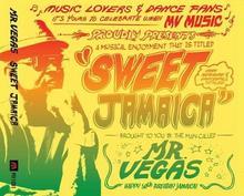 Sweet Jamaica Mr Vegas Płyta CD)