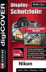 digiCOVER DigiCover wyświetlacz zapewnia ochronę Premium Nikon D7500Przezroczyste N4516