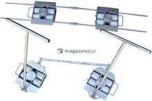 WIZ Wózki Zestaw transportowy 10T, rolki poliamidowe
