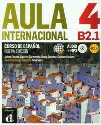 LektorKlett - Edukacja Aula Internacional 4 B2.1 Podręcznik z płytą CD - Jaime Corpas, Garmendiia Agustin, Carmen Soriano