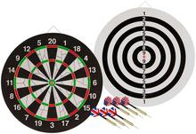 Abbey DARTS Dwustronna tarcza flokowana do dart Darts 52AZ-UNI