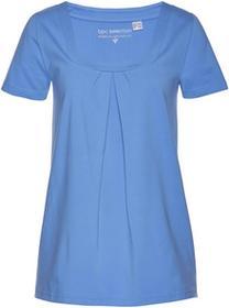 Bonprix Shirt, krótki rękaw średni niebieski
