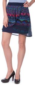 Desigual spódnica damska Erika 40 niebieski
