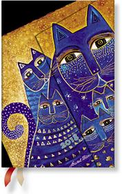 Paperblanks Hartley&Marks Publishers Ltd kalendarz książkowy 2018, Mediterranean Cats Mini