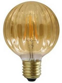 Polux Żarówka LED filament Vintage Amber kształt G10 E27 4W 2700K 5901508308887