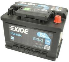 Exide CLASSIC - 54A 500A P+