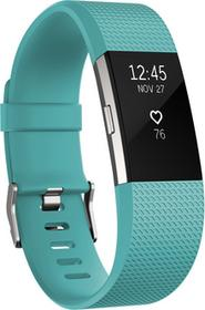 Fitbit Charge 2 HR L Teal-Silver