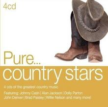 Pure Country Stars 4xCD) Sony Music