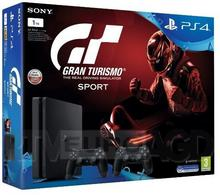 Sony PlayStation 4 slim 1TB Czarny + Gran Turismo Sport + 2xDualShock 4