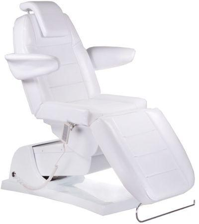 Elektryczny fotel kosmetyczny Bologna BG-228 biały BG-228/WHITE