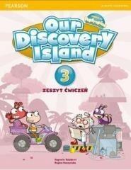 Longman Our Discovery Island 3 Zeszyt ćwiczeń - Salaberri Sagrario, Regina Raczyńska